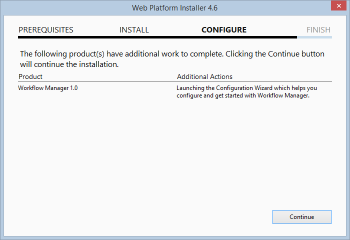 Part 1: Installing Workflow Manager for SharePoint Server 2013