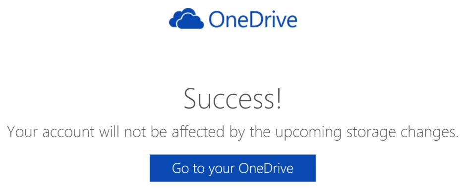 Keep your OneDrive storage