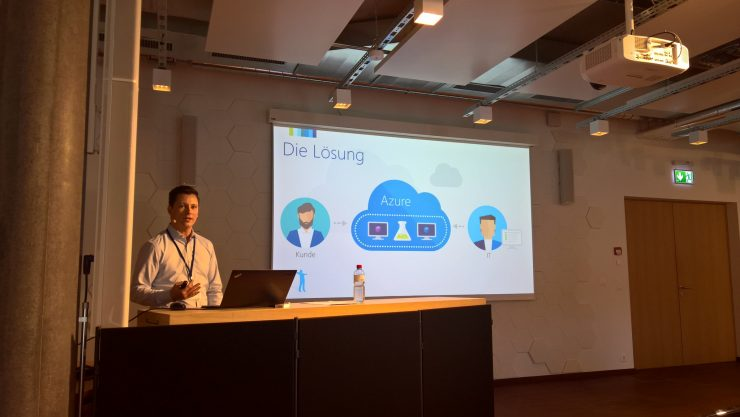 Roger Haueter about Azure DevTest Labs at Experts Live Switzerland