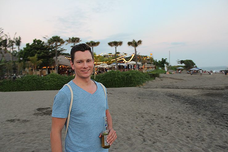Cheers from Bali