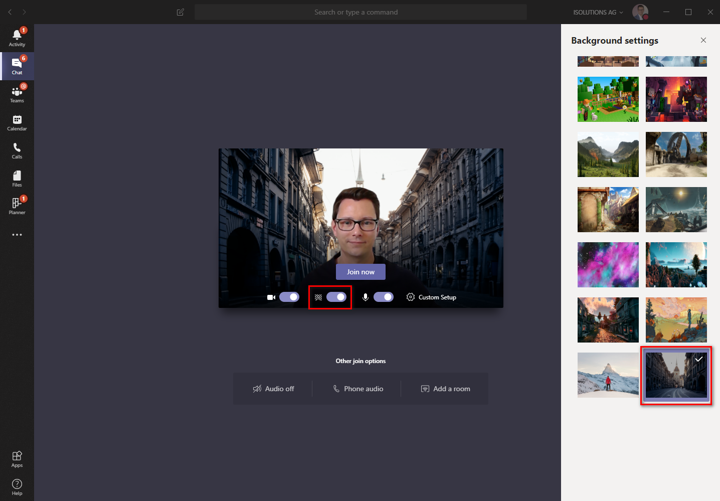 Set any picture you like as custom background in Microsoft Teams - techtask
